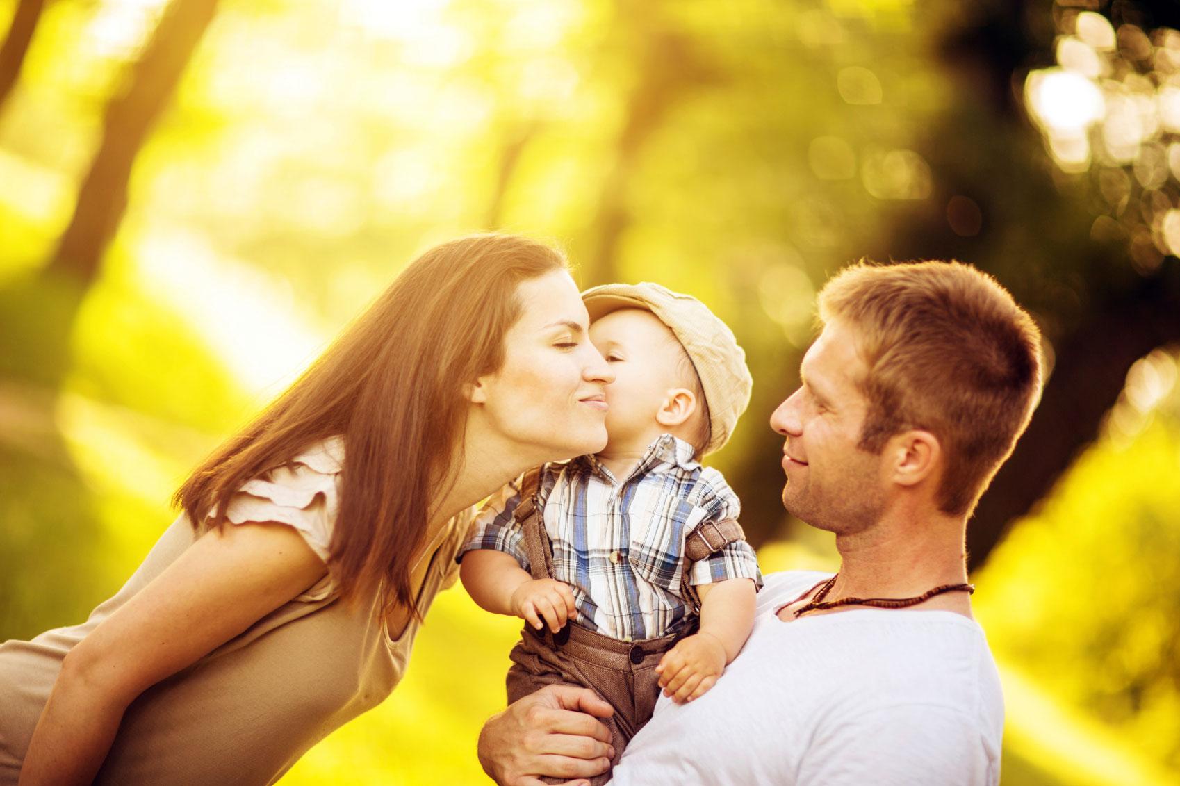 Любящая семья картинка